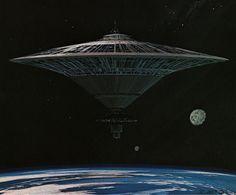 Ralph McQuarries Battlestar Galactica concept art