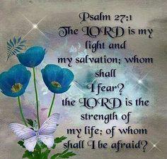 Psalm 27:1 KJV