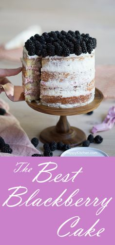 Blackberry Cake via