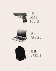John Watson - sherlock Fan Art