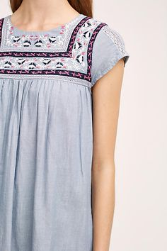 Embroidered Costa Dress - anthropologie.com