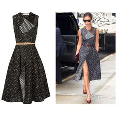 Victoria Beckham - Red Carpet Fashion Awards ❤ liked on Polyvore featuring dresses