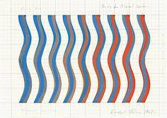 bridget riley sketch