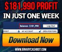 Binary Cash Bot