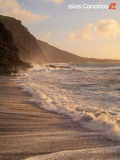 Playa de El Verodal en El Hierro - Islas Canarias.