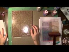 Art Geeks: The Artistic Pagan's Playground: Recess #2: Gelli Plate Printing Pt 3 - YouTube