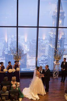 Elegant winter wedding: http://www.stylemepretty.com/massachusetts-weddings/boston/2015/05/29/black-tie-boston-winter-wonderland-wedding/ | Photography: Kate Preftakes - http://preftakesphoto.com/