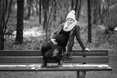 Babybauchfotos – Ungezwungenes natürliches Babybauchshooting mit Isabell in München