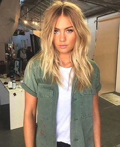 New Hair Color Summer Blonde Make Up 61 Ideas Hair Inspo, Hair Inspiration, Character Inspiration, Thin Wavy Hair, Summer Haircuts, Summer Hairstyles, Hair Lengths, New Hair, Cool Hairstyles