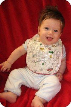 diy baby bibs tutorial