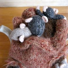 sack of mice tea cosy