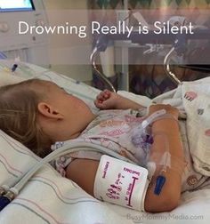 Drowning Really is Silent — This is a scary story of just how quickly children can drown . . . even when they are being watched by several adults. Fortunately this story has a happy ending but it's terrifying how close a call it was. Important child safety reminder.
