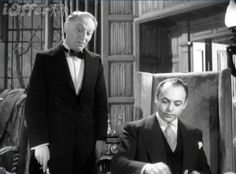 William Hartnell and Herbert Lom in The Ringer (1952) Directed by Guy Hamilton