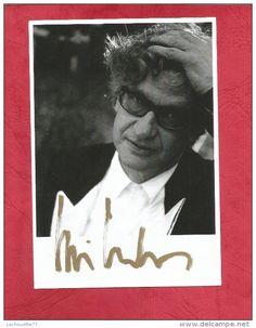 Superbe autographe Original   WIM  WENDERS   1 photo dédicace 15   X 10  FRAIS DE PORT OFFERTS