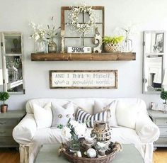 Adorable Cozy And Rustic Chic Living Room For Your Beautiful Home Decor Ideas 110