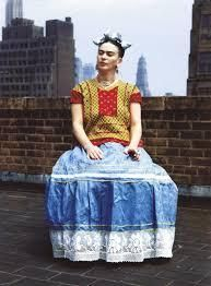In the Coyoacan neighborhood of Mexico City, you can visit Frida Kahlo's former home, La Casa Azul, to get a look at the way she lived her life, including where she painted, cooked, slept and entertained. And now you can also see the clothing she wore. Recently, curators of