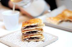 Tarta rápida de Nutella y almendras | Velocidad Cuchara
