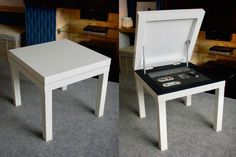 raspberry and grey living room ideas - IKEA LACK Raspberry Pi Case Storage Table IKEA Hackers. Ikea Hacks, Ikea Hack Sofa, Ikea Lack Hack, Ikea Table Hack, Diy Hacks, Diy Sofa, Diy Coffee Table, Coffee Table With Storage, Recycling