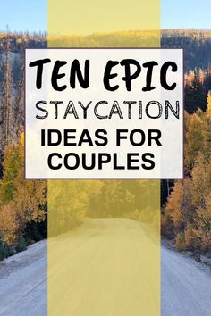 Ten epic staycation ideas for couples near your home. Experience a quick getaway in your hometown or close to it with your significant other. Romantic Getaways, Romantic Travel, Travel Couple, Family Travel, Travel Inspiration, Travel Ideas, Travel Tips, Staycation, Day Trips