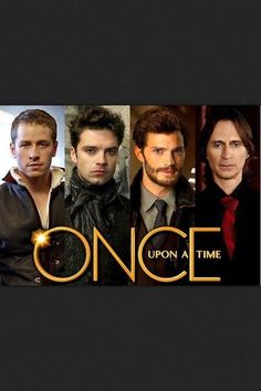 The awesome guys of OUAT except one of them died ( yes he actually stayed dead) and another stopped showing up