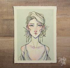 Original Watercolor Painting ♦ V.1