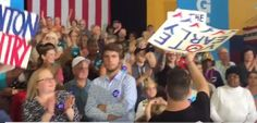 VIDEO=> Clinton Camp Caught Handing Out Pre-Made Signs to Rally-Goers - So Pathetic!