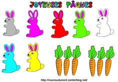 sjabloon guirlande konijntjes - Google zoeken