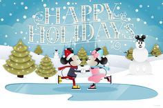 Happy Holidays From Your Pals At Walt Disney World