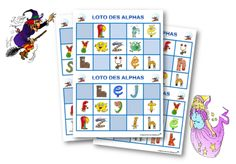 Le loto des Alphas French Resources, Teaching French, 4 Kids, Montessori, Literacy, Preschool, Projects To Try, Coding, Classroom