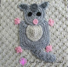 This is one of the appliques in the Australian Animal Set