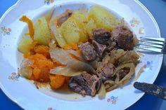 Får I Kål. Traditional Norwegian dish