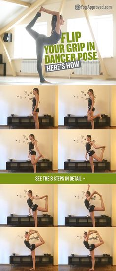 Yoga for dancers-Flip your grip in dancer pose here's how