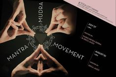 Waipahu, HI Join Erica Jago and Maricarmen Sierra for this beautiful two part series on Mantra, Mudra, and Movement.   This workshop will explore Mantra: healing energy of sound vibrations, Mudra: yoga f… Click flyer for more >>
