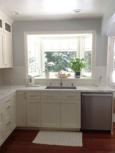 Save for future kitchen and house renovation ideas. I like placement of back door.