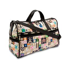 its a small world Weekender Bag by LeSportsac Global Journey by None, via Polyvore