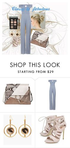 """""""Classy and fabulous"""" by dicarios on Polyvore featuring moda, Chloé, Galvan, Chico's, Carvela y Bobbi Brown Cosmetics"""
