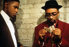 Denzel Washington & Spike Lee in Mo' Better Blues (1990)