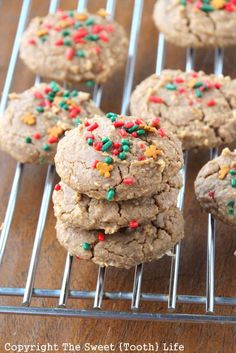 {Secret Ingredient} Soft and Chewy Gingersnaps. These are gluten free, grain free, vegan, and refined sugar free.