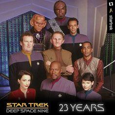 Happy Anniversary, #StarTrek #DeepSpaceNine #DS9 is my favorite Star Trek series.