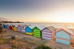 Brighton Beach, Melbourne, Victoria.