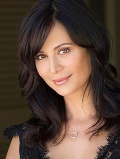 Catherine Bell love her she's my favorite army wife and witch! Oh and yea she's my husband's celebrity crush lol can't say I blame him she's gorgeous!=)