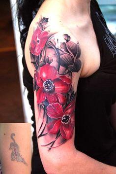 Flowers Tattoos Inspiration for Women