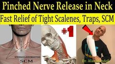 Wicked Neck Stretch for Fast Relief of Tight SCM, Trap, Scalene, & Pinched Nerve - Dr Mandell, DC - YouTube