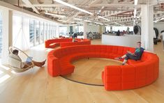 UKTV worked together with architecture firm PENSON to create their new headquarters in London.