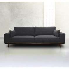 Grey 2 seater velvet sofa Kant Interiors Pinterest