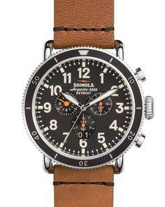 Shinola 48mm Runwell Sport Chronograph Watch Fine Watches b62095818f