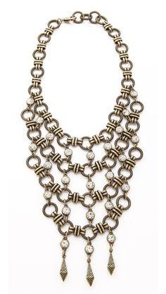 Dannijo #fashion #jewelry #necklace