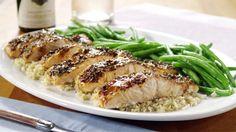 Balsamik Sırlı Somon Fileto Tarifi Videolu - Balsamik sırlı somon fileto nasıl yapılır videolu, Balzamik sirkeli somon fileto tarifi videolu, How to Make Balsamic Glazed Salmon Fillets recipes video