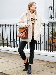 10 Street Style Outfits That You Can Brunch in This Weekend via @WhoWhatWearUK