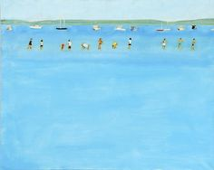 Summer  in  Maine - Alex Katz  American b.1927-